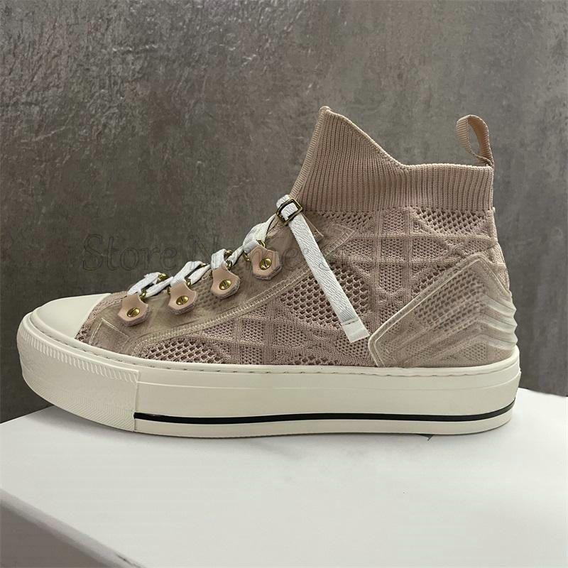 Walk n statiques вышитые женские дизайнерские туфли наклонные мотивы кроссовки Италия роскошь бренда кроссовки резиновая подошва с звездой повседневная обувь