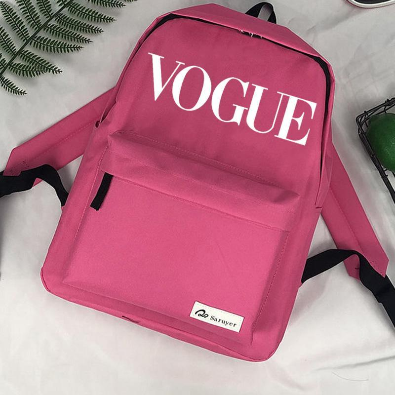 Vogue Bolsas Mochila Mochila Moda Escola Kawaii Designer Schoudertassen Infantil Bolso Mujer Tassen Dames Mochila