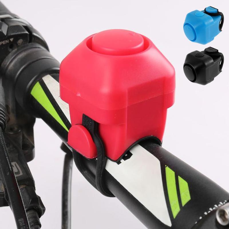 Bike Hörner Elektronisches lautes Horn 120 dB Warnung Sicherheit Elektrische Glocke Sirene Fahrradlenker Alarm Ring Radfahren Zubehör