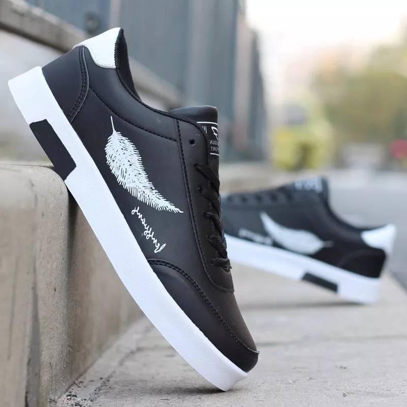 Erkek 2021 Yaz Yeni Erkek Rahat Ayakkabılar Çok Yönlü Öğrenci Kore Tarzı Beyaz Ayakkabı Trendy Düşük Üst Sneakers