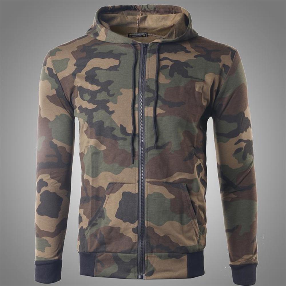 Outono inverno jaquetas homens camuflagem casacos com capuz casual zíper masculino windbreaker homens vestuário roupas roupas para streetwear