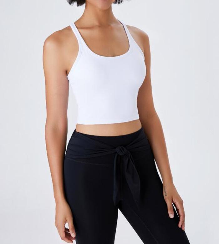 1226 الرياضة حمالات الصدر للنساء اليوغا البدلة المحاصيل الأعلى أنثى اللياقة البدنية رياضة الصدرية جوفاء تنفس مثير