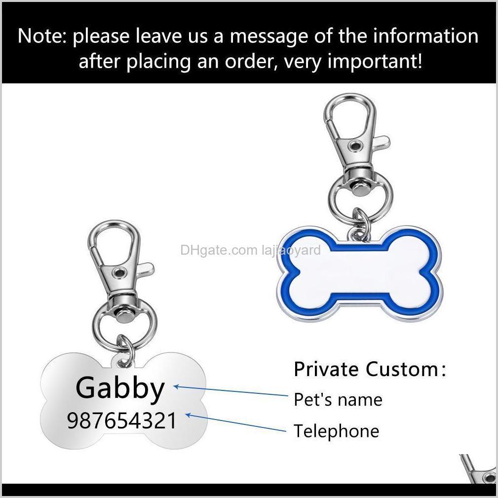 Collares personalizados Nombre ID Regalos Regalos Amantes Collar grabado TAG Q WMTOTR 8PO70 TAGID CARD UWOXB