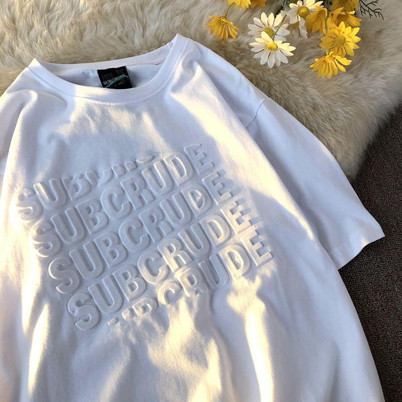 إلكتروني الإبداعية نمط تي شيرت الصيف جولة طوق بسيط الأزياء بأكمام قصيرة 3d الطباعة بلون ملابس رجالي