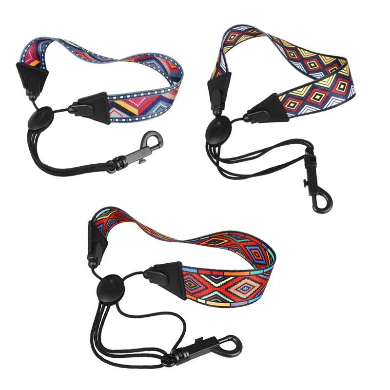 Golf Training Aids Saxophone Neck Strap With Snap Hook Sax Harness For Alto / Tenor Soprano