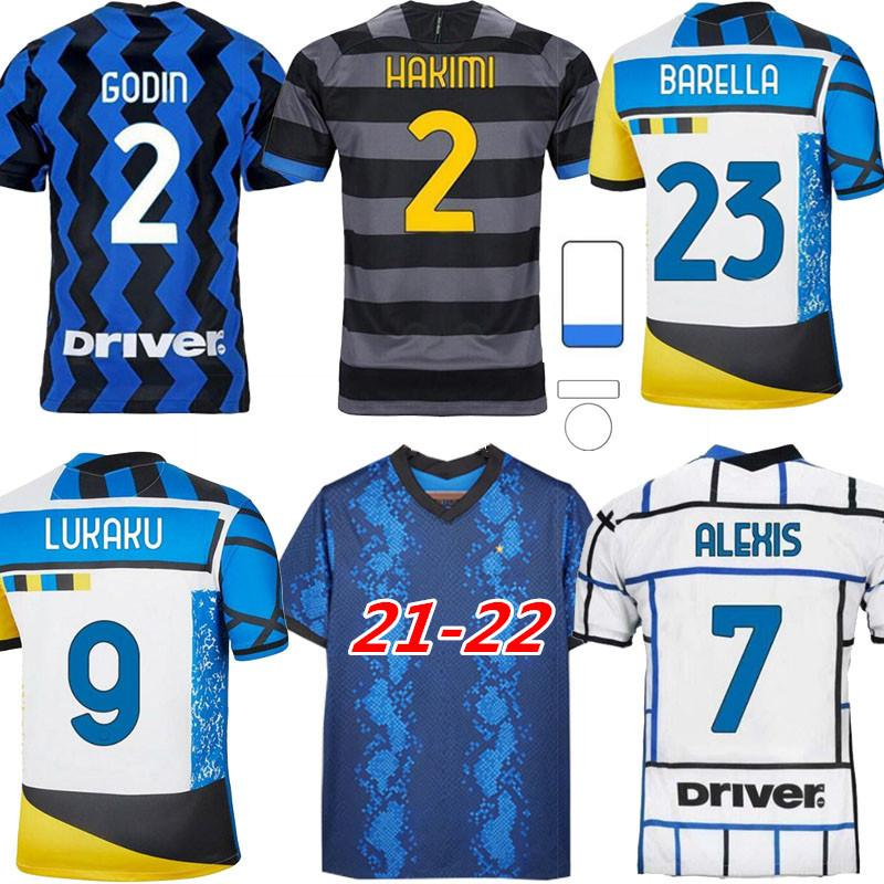 2021 2022 inter الكبار لكرة القدم الفانيلة الرابع ثالث 20 21 22lautaro Lukaku Nainggolan 2021/22 كرة القدم قميص مايلوت دي القدم
