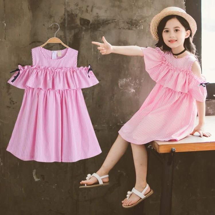 Ragazze 2021 Nuova Gonna per bambini Cuhk Princess Dress Summer Coreano Super straniero