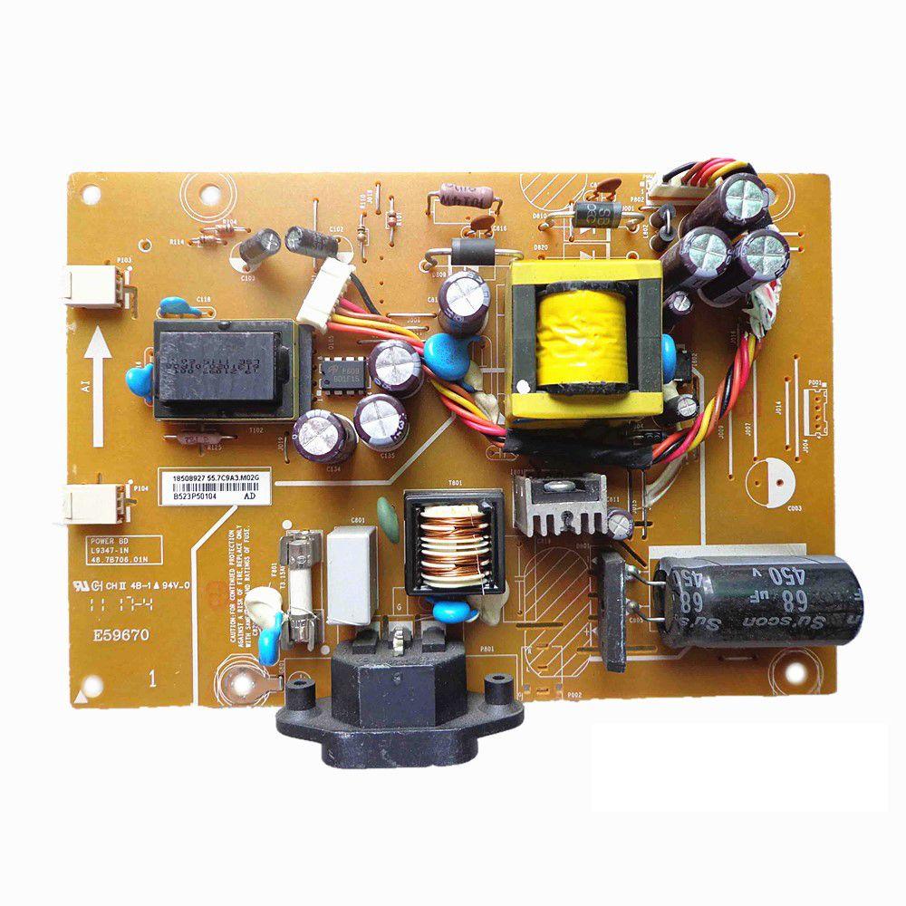 LCD original Monitor Power Supply TV PCB UNIDAD 48.7B706.01N L9347-1N PARA ACER V173 DB V193WV G205HV
