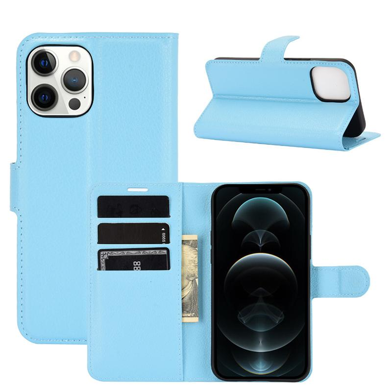 Litchi Flip Portfel Magnes Kickstand Case Ochronna Anti-Shock PU Leather Torebka z uchwytem Gniazdo Karty Pokrywa dla iPhone 13 Pro Max 12 Mini 11 XS XR X 8 7 6 6 SE