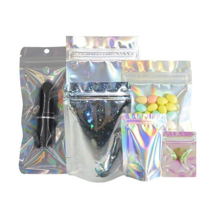 Packing Bags ARKN Packing Bags Resealable Zip Lock Stand-up Aluminized Foil Zipper Seal Gift Packaging Bracelet Rings Jewelry Storage Bag Office Plastic Pouches