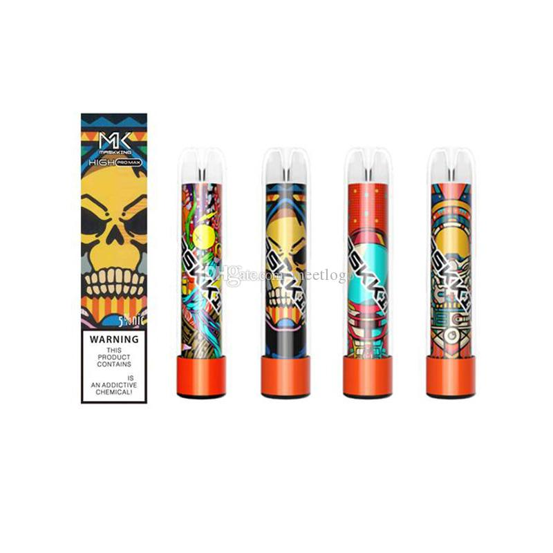 Maskking High Pro MAX 1500 Taucher Einweg-E-Zigaretten MK VAPE-Pen-Vorgefüllte Gerät-Pod bereit, Starter-Kit PK PATTIGEBAR PLUS XXL zu verwenden