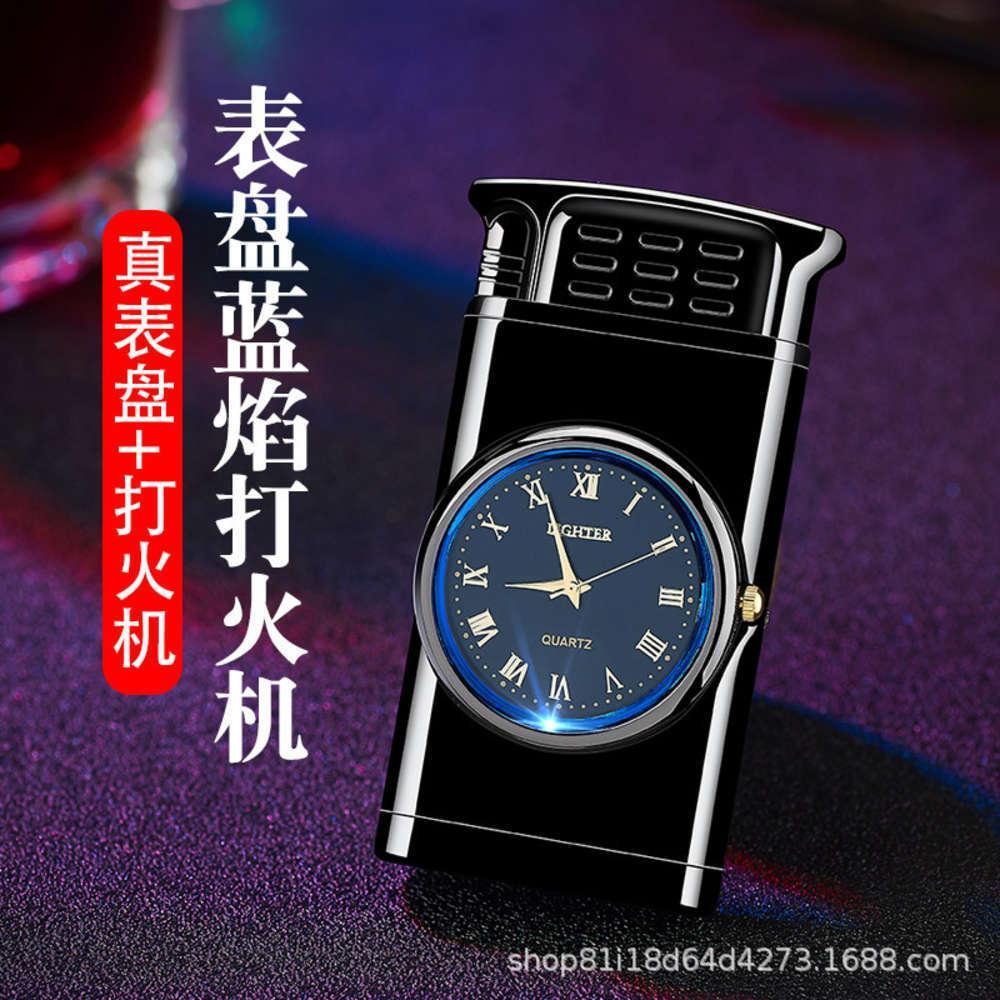 Смотреть синий Hefeng 601 свет прямо к творческому модному зажигалками