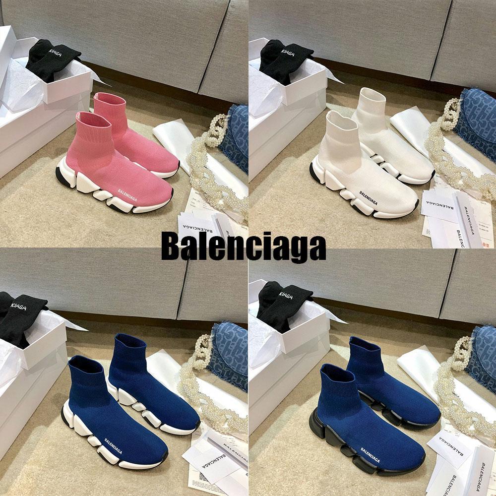 # 2021 # Balenciaga balenciga Balanciaga desenhador homens sock sock sock botas sapatas botas casuais sapatos sapatos corredores tênis # 35-45 #
