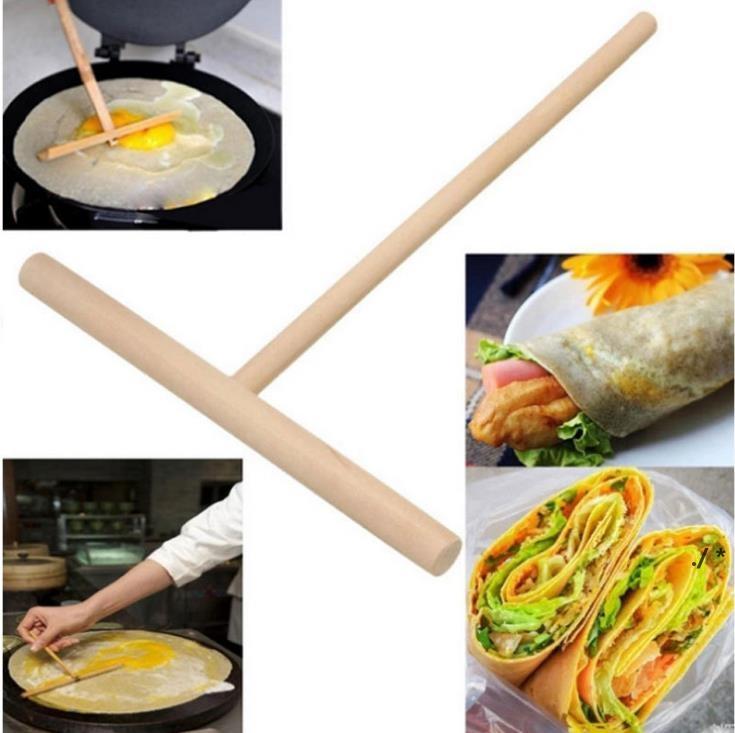 Noël Chinois spécialité Crêpe Crêt Crimination Pancake Stick Stick Stick Home Cuisine Outil Restaurant Spécialement fournitures BWF5723