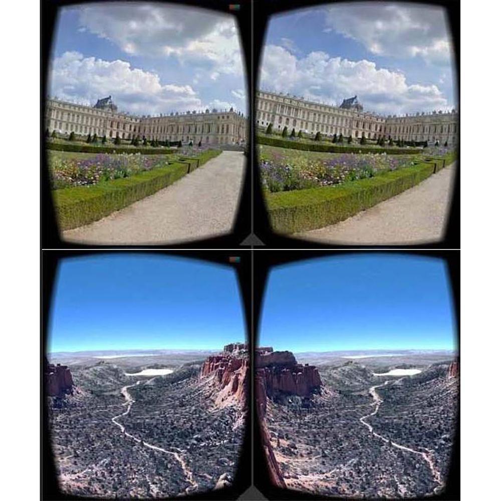 Google Cardboard Viver 3 D Virtual Realidade Óculos 3D VR Óculos para telefone iphone Android Smartphone Smartphone Headset Wirth Lentes