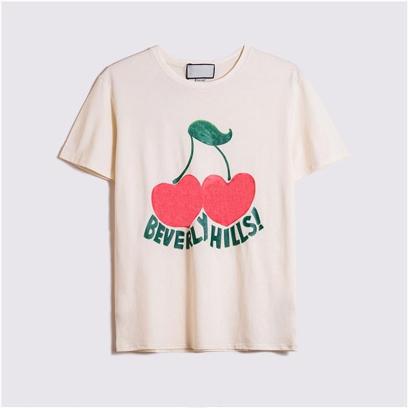2021 Bayan Erkek Tasarımcı T Shirt Moda Mektuplar Baskılı Kısa Kollu Lady Tees Lüks Rahat Giyim Kadın S T-Shirt Giyim