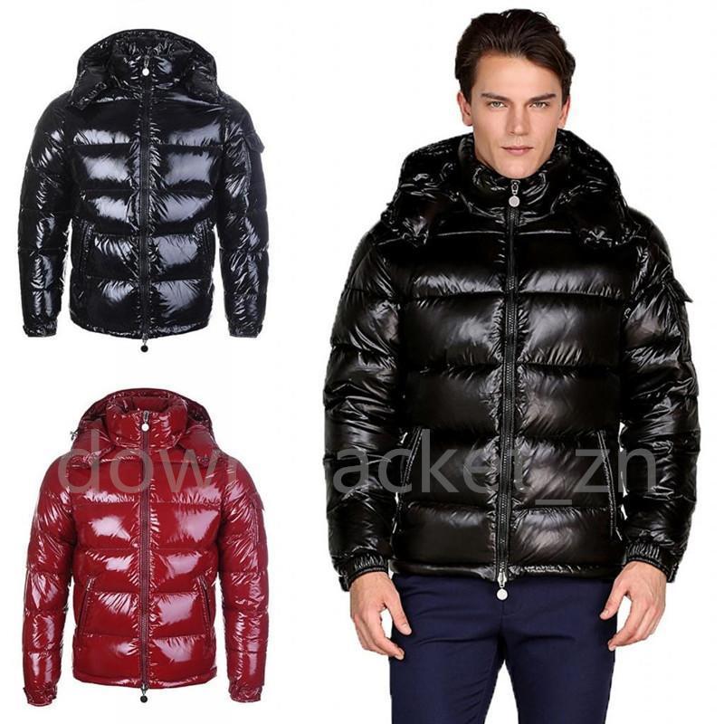2021 أعلى جودة رجل الشتاء أسفل سترة مقنع جاكيتات الرجال النساء الأزواج سترة سترة قميص سميكة معطف أسود أحمر أزياء الفطائر تغلب حجم S-3XL
