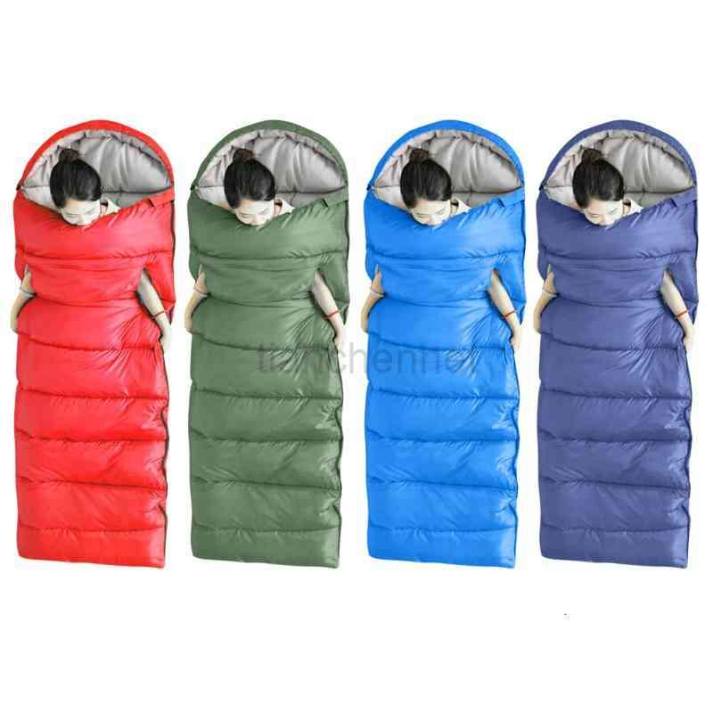 Waterproof Sleeping Bag Warm Sleep Outdoor Camping Pouch Women Men Travel Hiking Travelling Easy Carrying Portable Parts