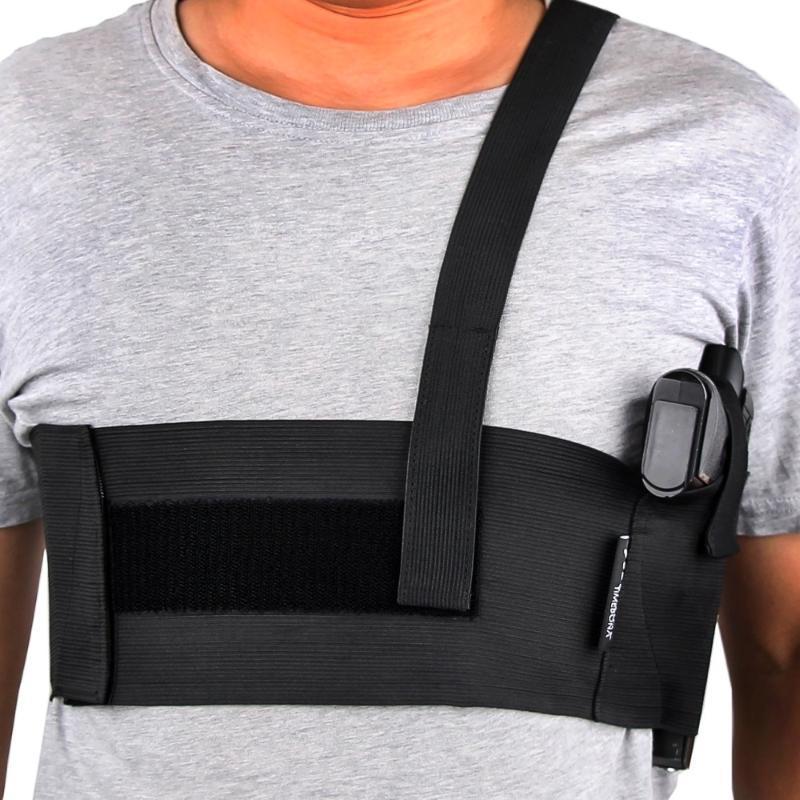 Наружные сумки тактические подмышечные полосы пистолет кобуру универсальные брюшные талии пистолетные пакеты глубоко сокрытие плечо