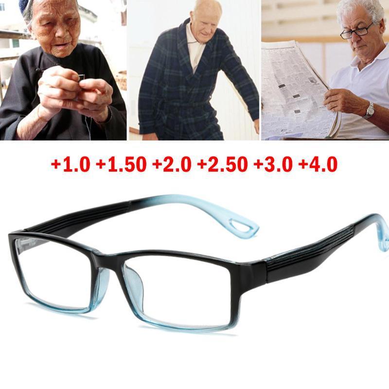 Damengradine Mode Lesebrille mit Beutel und Reinigungstuch Schwarz Hohe Qualität Rahmen A980 Sonnenbrillen