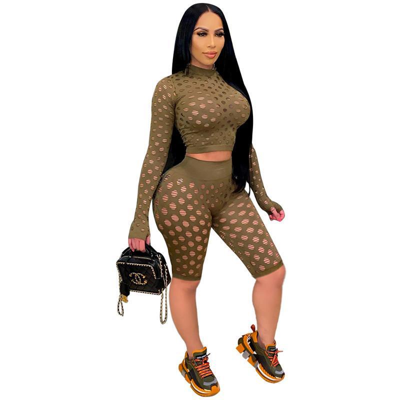 Spor Suit D1295 Iki Parçalı Set Şort Kıyafetler Uzun Kollu Eşofman Jogging Sportsuit Gömlek Pantolon Takım Elbise Kazak Yaz Bayan Eşofman