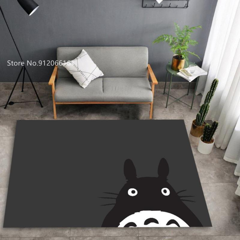 Carpets My Neighbor Totoro Floor Rugs Japan Anime Doormats For Kids Bedroom Large Area Rug Entrance Bedside Mat Decor