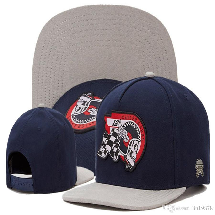 최신 케이 러 아들 두개골 12 명의 야구 모자 여성용 스포츠 Snapback 모자 브랜드 Swag Hip Hop Cap Gorras Bones