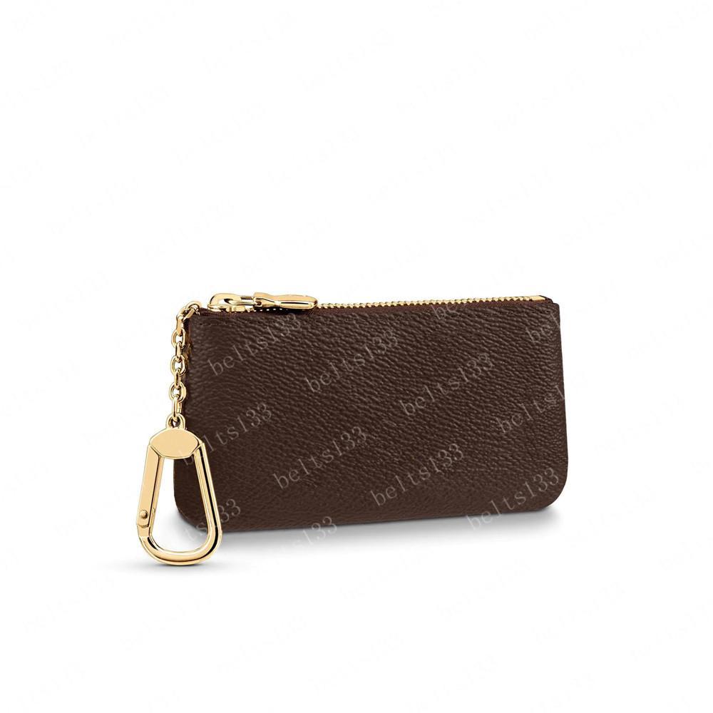키 파우치 키 체인 지갑 망 주머니 키 지갑 카드 홀더 핸드백 가죽 카드 체인 미니 지갑 동전 지갑 K05 00856