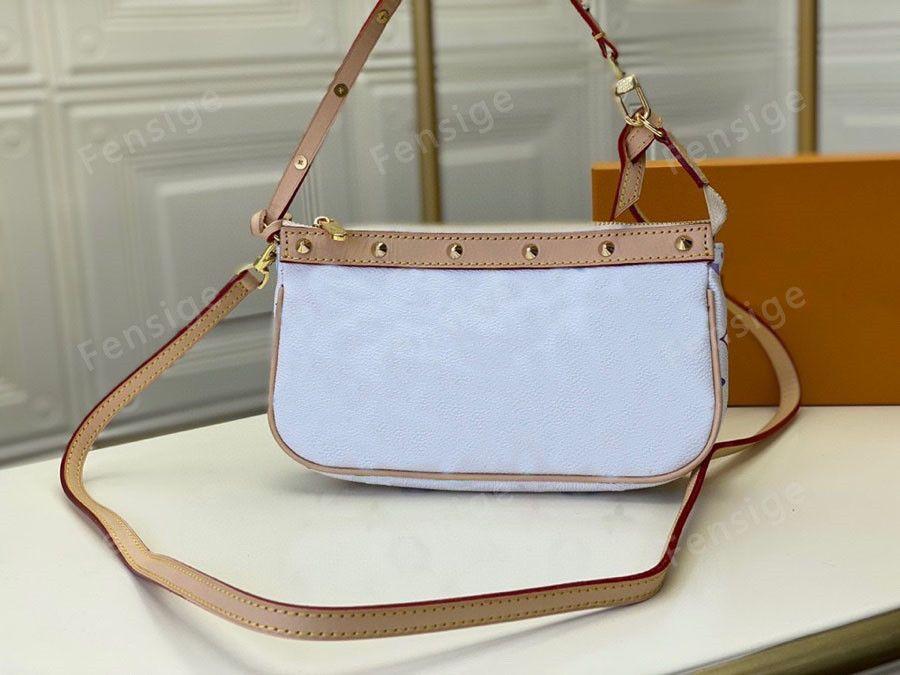 خمر M92649 حقيبة حمل النساء الكلاسيكية الكتف حقائب crossbody l زهرة نمط الكلاسيكية إمرأة السيدات محفظة حقيبة
