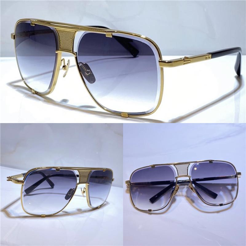 남성과 여성 스타일의 5 여름 선글라스 안티 - 자외선 레트로 플레이트 광장 전체 프레임 패션 안경 임의 상자