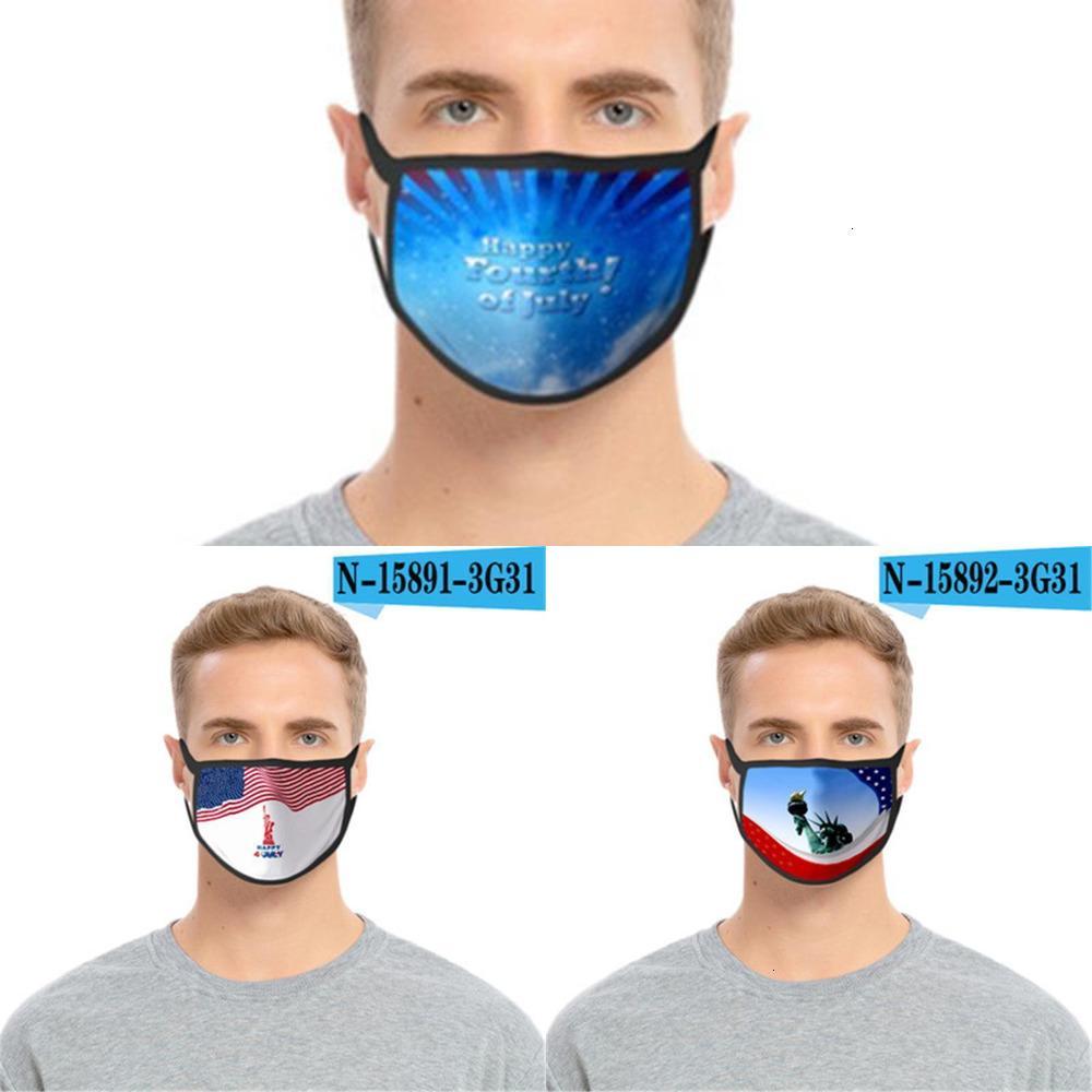 ANTI-UV Double masque Foral Couche Pâte à la poubelle Visage Face Masques Mode Femmes Hommes Mout CD2X
