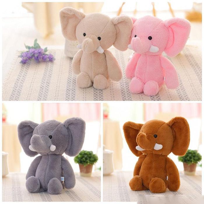 20 cm sevimli fil peluş bebek çocuk arkadaşları ve çocuklar için doğum günü hediyeleri ve arkadaşlık nesneleri olarak kullanılabilir.