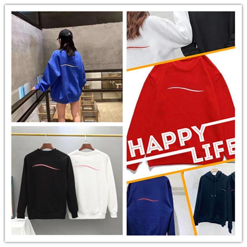 Erkek Kadın Tasarımcılar Hoodies Nakış 2021 Moda Kapüşonlu Kış Adam Uzun Kollu Erkekler S Bayan Hoodie Giyim Giysileri