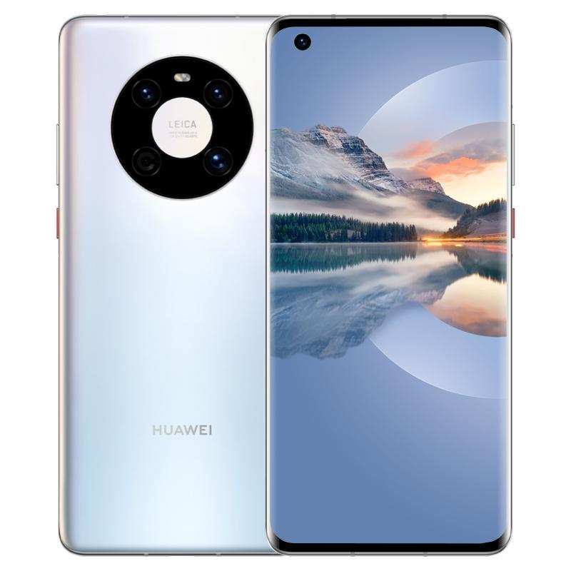 Original Huawei Mate 40e 5G Mobiltelefon 8 GB RAM 128 GB 256GB ROM KIRIN 990E 64.0mp AI 4200MAH Android 6,5 Zoll gekrümmter Vollbild-Fingerabdruck-ID Gesicht NFC Smart Mobiltelefon
