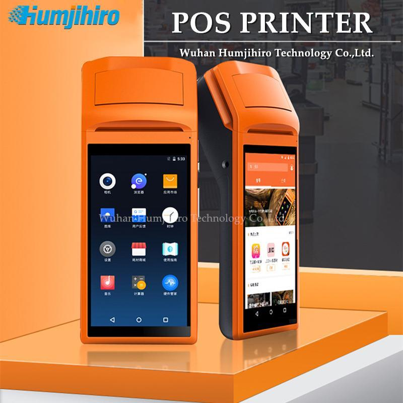 58mm PDA Handheld Device Terminal Thermal Bluetooth Printer WIFI Android Rugged Barcode Camera Scaner 1D 2D Printers