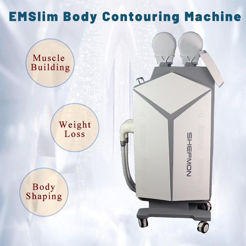 Body Slimming System EMSLIM Fett Burning Muskelstimulator 7 Tesla Einfach zu bedienen Keine Erholung