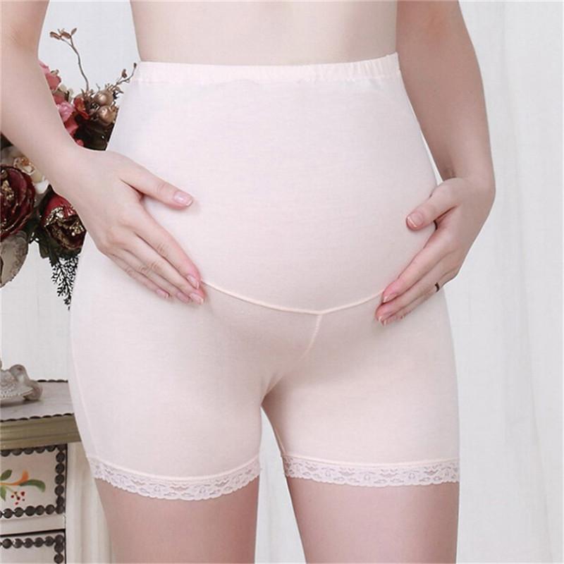 Schwangere justierbare Sicherheits-Shorts-Mutterschaftsversicherung Hosen Leggings-Bottoms