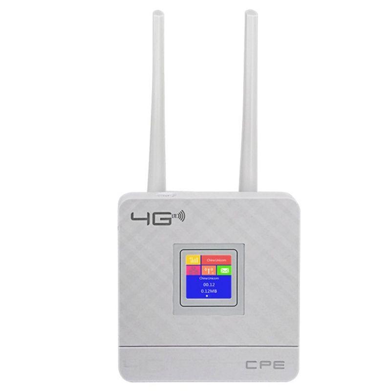 CPF903 3G 4G Portable Hotspot Lte Wifi Router Wan/Lan Port Dual External Antennas Unlocked Wireless Cpe Router+ Sim Card Slot