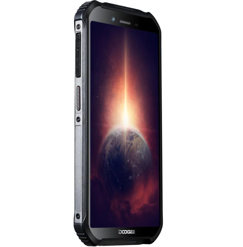 """5.45""""HD+ IPS Screen DOOGEE S40 Pro IP68 Corning Gorilla Glass Rugged Mobile Phone 4GB RAM 64GB ROM 5.45 inch 4650mAh Android 10 MT6762D A25 Octa Core 1.8GHz Smartphone"""