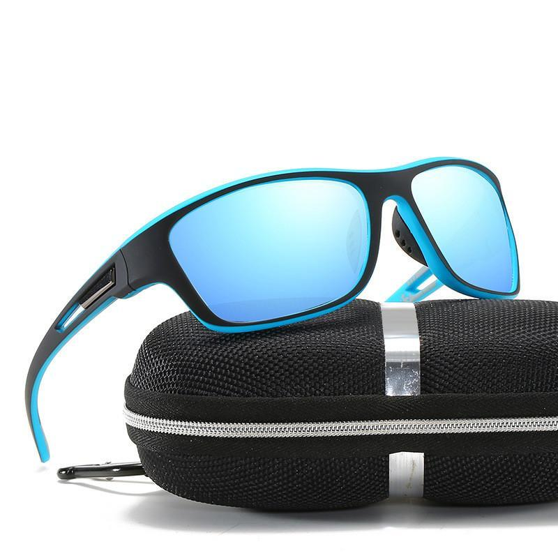 Lunettes de soleil 2021 Polarized pour hommes et femmes Verres anti-poussière série Miroir de conduite en plein air