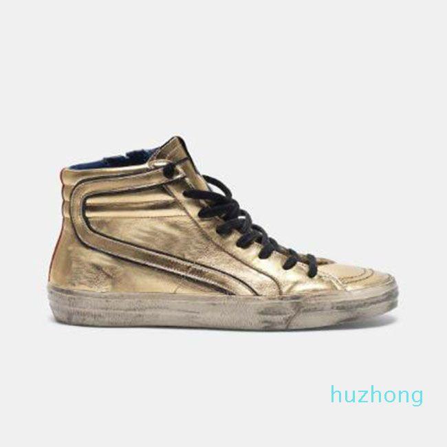 슬라이드 슈 프런시 운동화 디럭스 레오파드 뱀 가죽 더러운 거위 디자이너 남자 여성 신발