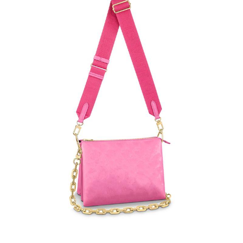 2021 Последние женщины сцепления дизайнерская сумка роскоши бренда Crossbody сумки с широким плечом и металлической цепочкой кошельки натуральная кожа высокое качество оптом