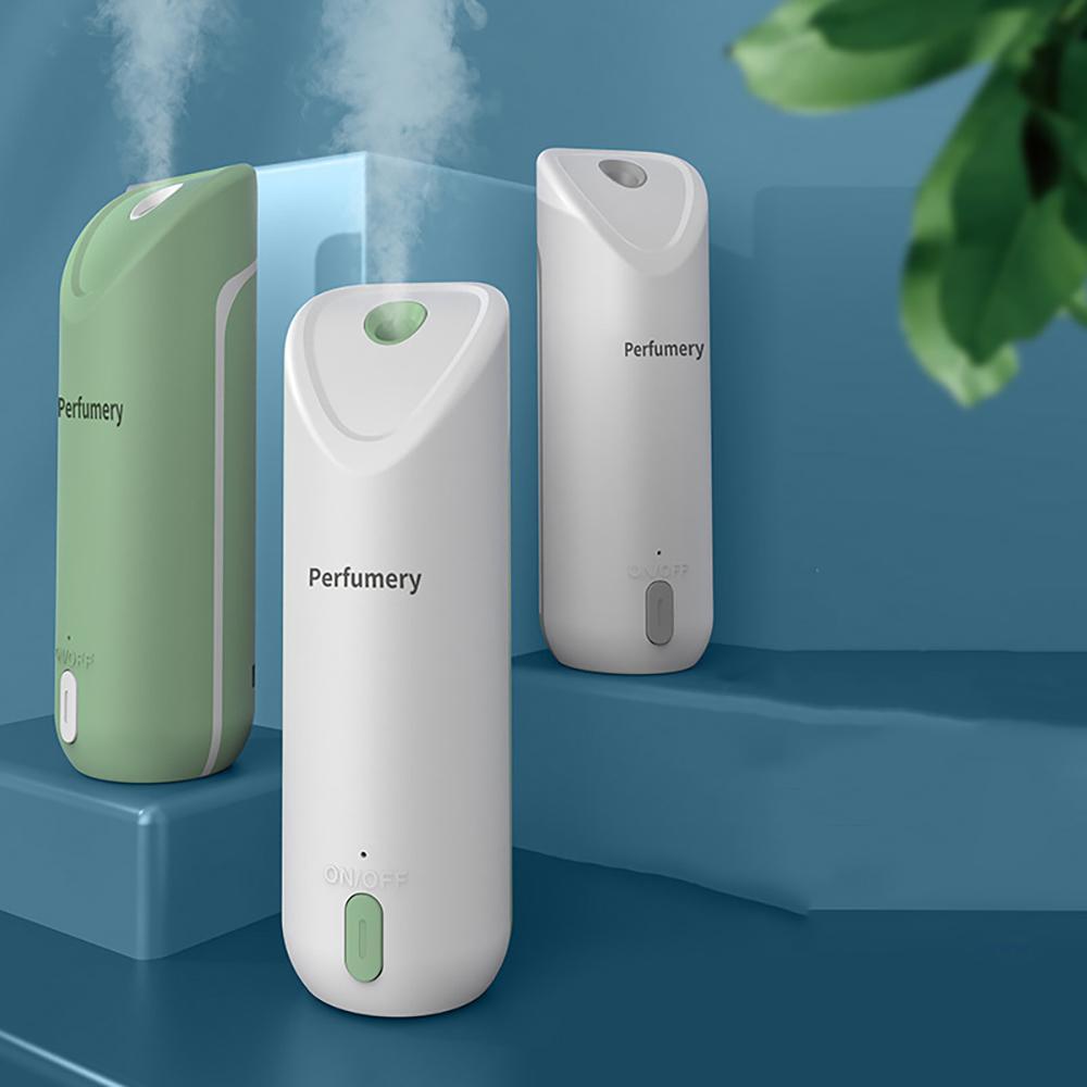 USB-Perforationsfreier Wand-Aroma-Diffusor, Multi-Speed-Anpassung, intelligenter Duft, Stummschaltung, Rauschen und Desodorierung 3 Optionen