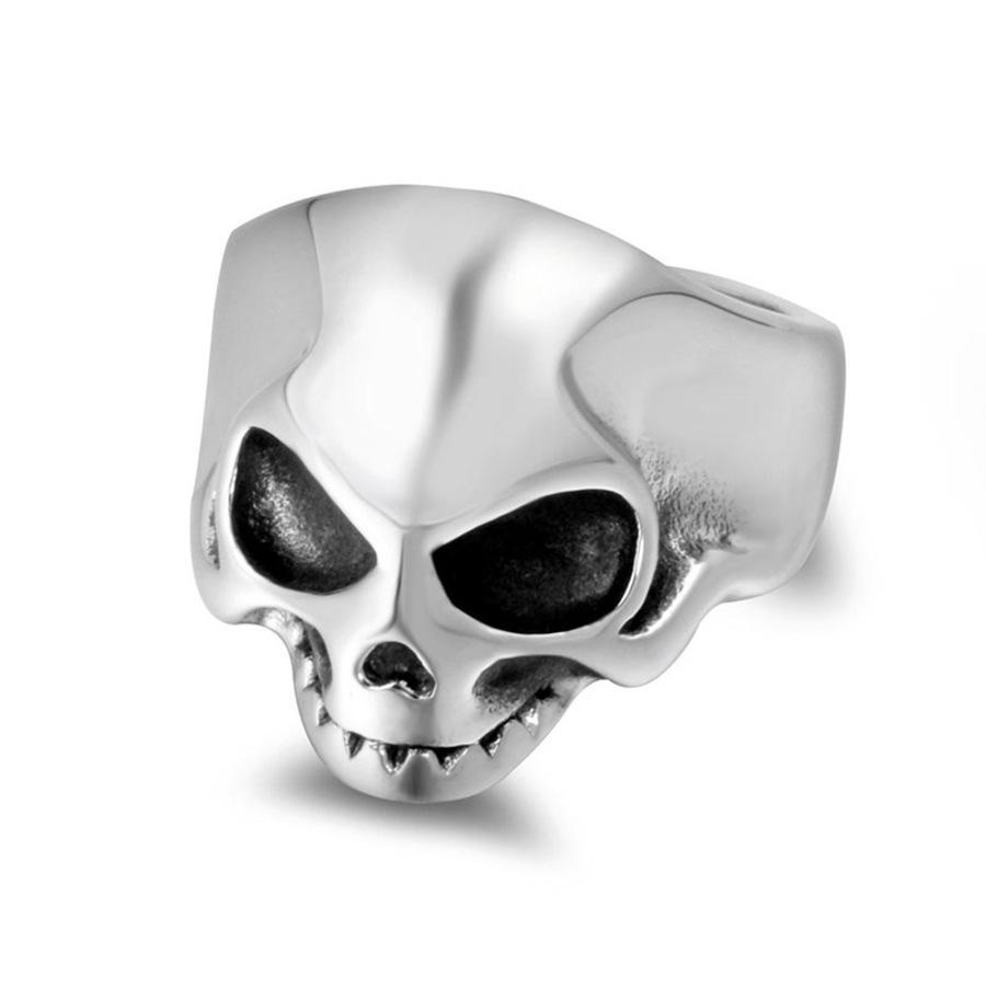 Мода личности тренд титановый стальной рукой загадочное кольцо черепа SA892 8B0Y
