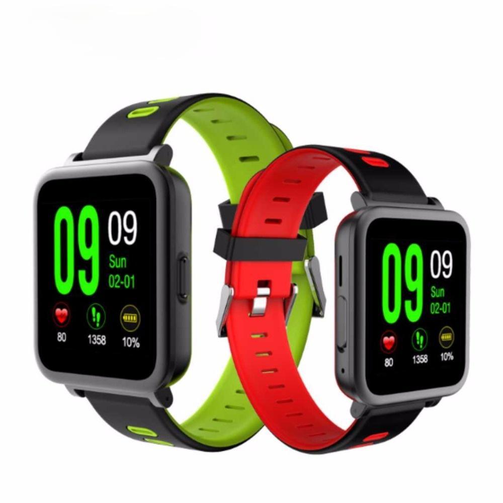 Slimy Herzfrequenz-Monitor Smart Watch Sports Uhr MTK2502 Smartwatch für Android IOS-Telefone PK KW18 K88 K88H Auf Lager
