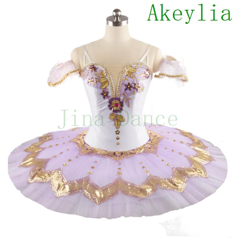 Lavanda profissional tutu world ballet ballet vestido de nozes para mulheres dormir beleza variação adulto branco roxo