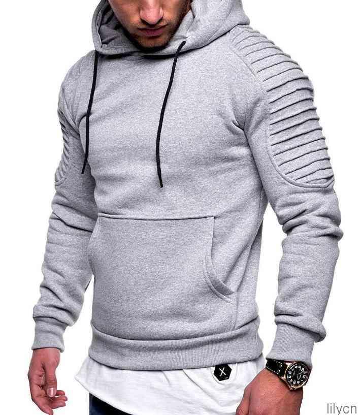 Herren Casual Hoodies Teenager Kleidung Mode Trend Drapierte Frühling Herbst Sweatshirts Gedruckt Hommes Pullovers