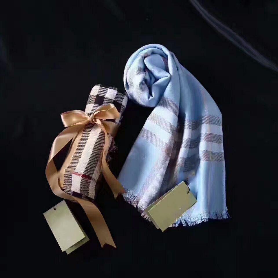 Sciarpa in stile classico da 180 * 70cm Sciarpa tinta unita da uomo e sciarpe di cotone da donna per le quattro stagioni