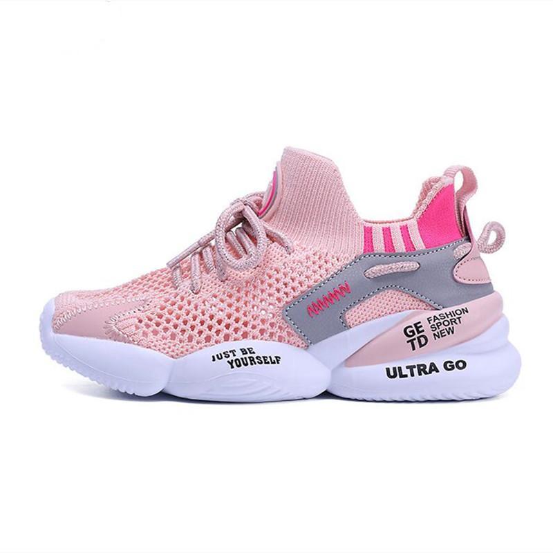الرضع الصغار jg الربيع الاطفال الرياضة أحذية رياضية الأطفال شبكة الانزلاق على أحذية رياضية 2021 بنين بنات الصيف تنفس ضوء الجري أحذية المدربين