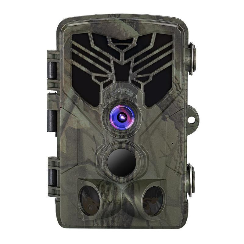 사냥 카메라 16MP 1080P 트레일 야외 야생 동물 스카우트 PIR 센서 적외선 야간 투시 0.3s 빠른 카메라